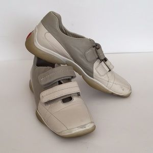 Prada all leather sneakers made in Italy